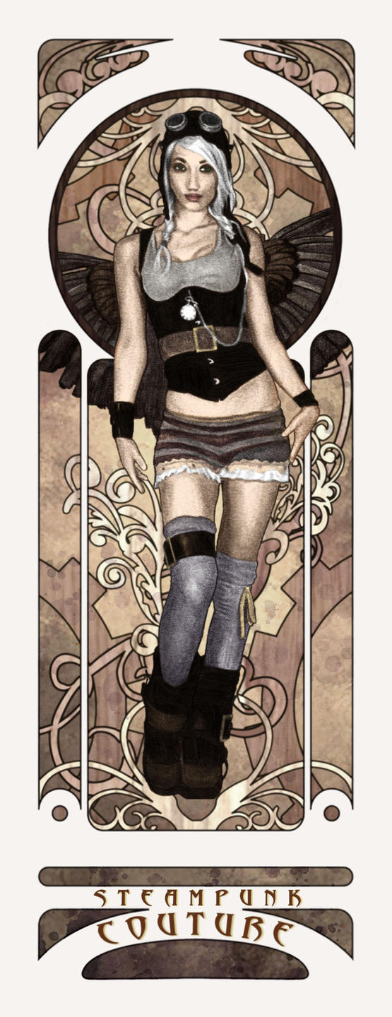 Steampunk Couture Two by redghostman