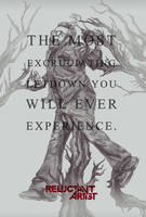 Reluctant Artist - Evil Dead Alternate Poster by redghostman
