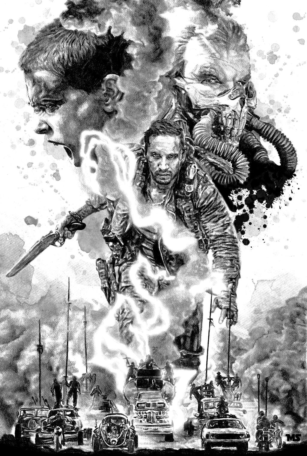 Mad Max: Fury Road Noir by redghostman