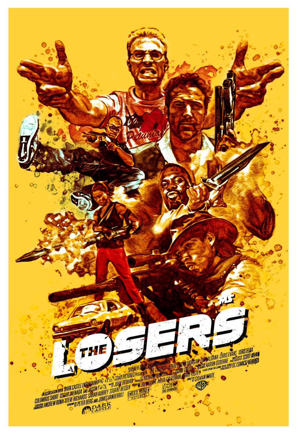 The Losers by redghostman