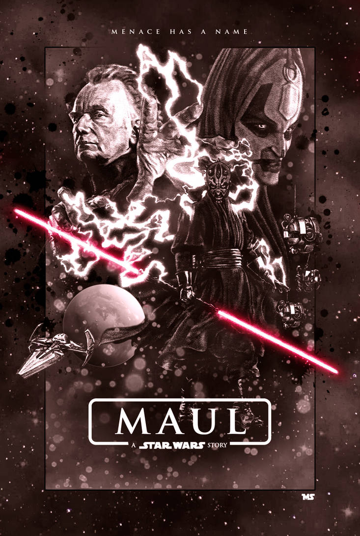 Maul (Alternate) by redghostman