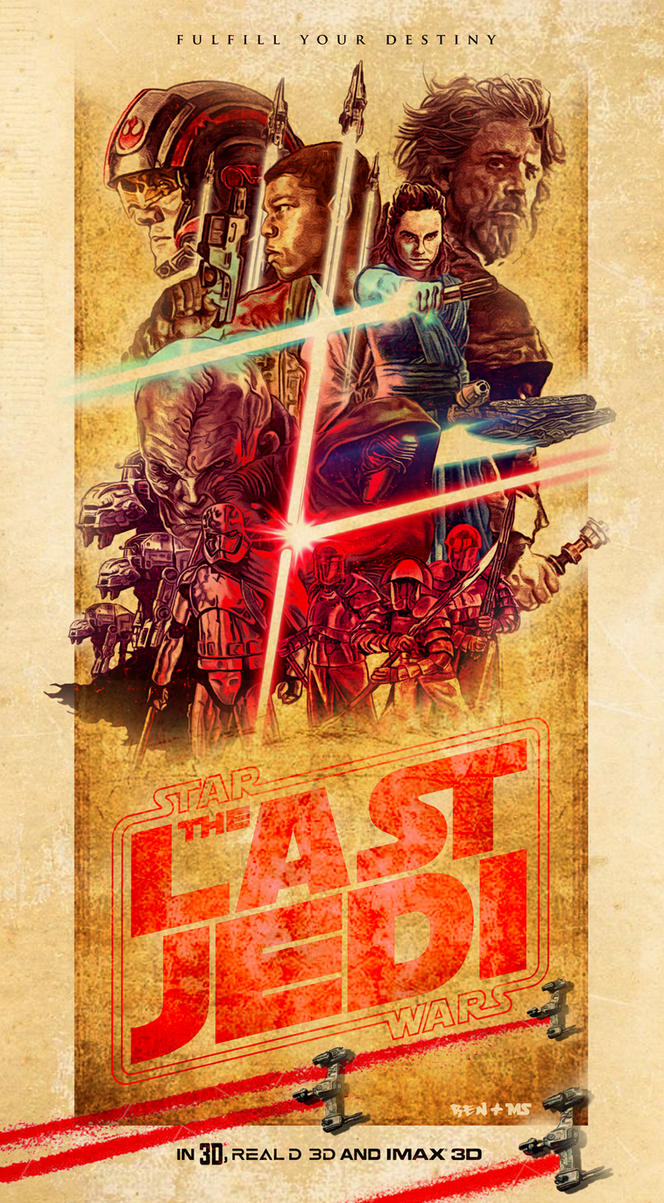 The Last Jedi by redghostman