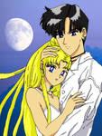 Sailor Moon - Usagi and Mamoru