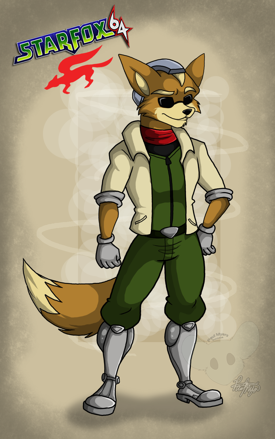 James And Fox Mccloud James McCloud +64 by R...