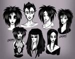 Goth Musicians Compilation