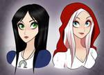 Dark Fantasy Heroines
