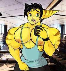 Spike Gym Selfie