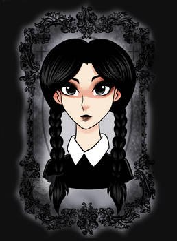 Wednesday Addams Portrait