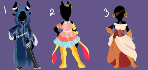 Outfit DTA [Draw to Adopt] WINNERS ANNOUNCED by DandyDuo