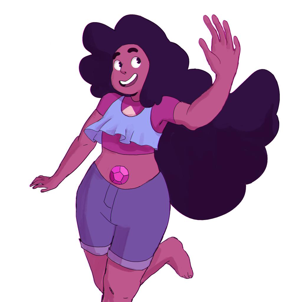 Cartoon Characters With Purple Hair : Stevonnie by hokoki on deviantart