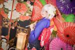 FGO Mash Cosplay New Year Kimono 4