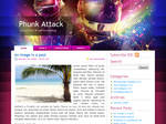Phunk Attack Wordpress Theme
