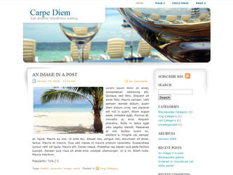 Carpe Diem WordPress Theme by dulcepixels