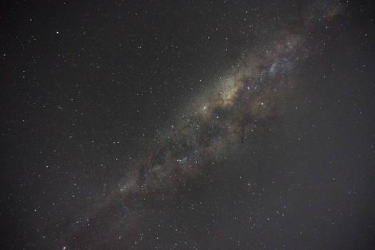 The Milky Way during Eta Aquariids