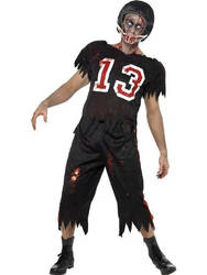 Men's High School Horror American Footballer Dress by fancypandaltd
