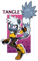 [FanArt] Tangle by Sonictchi