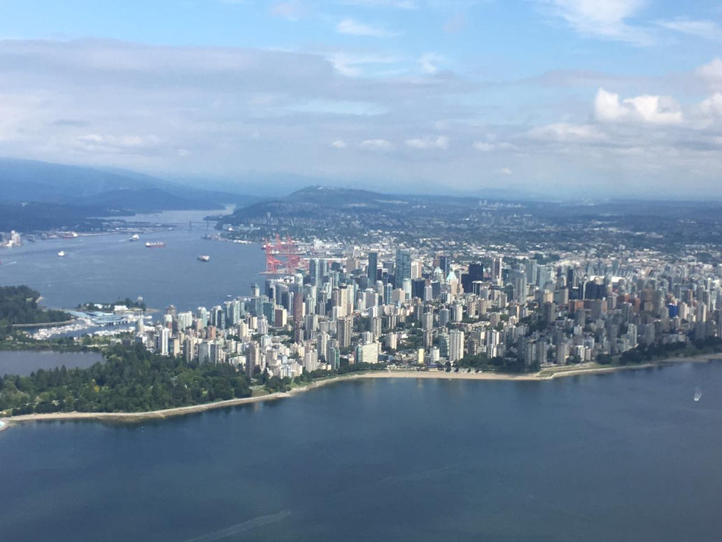 Airplane view from Vancouver 2 by HeitorSatlerMacedo