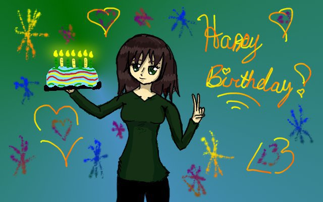 Happy Birthday Kylievil by Raysa296
