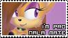 """I'm pro NalaMate"" stamp by InfernalAngel483"