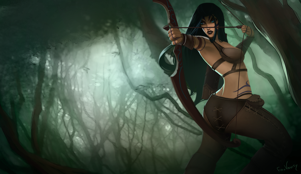 Woad Ashe by FoxVanity...