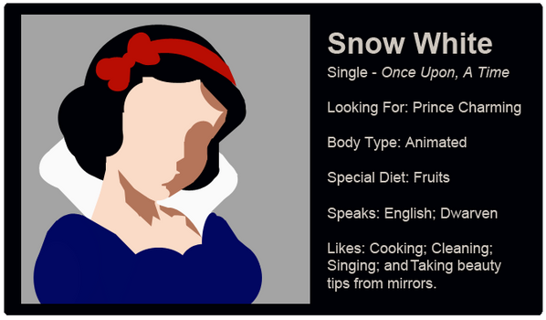 Dating Fictions - Snow White