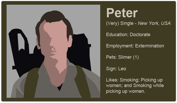 Dating Fictions - Peter