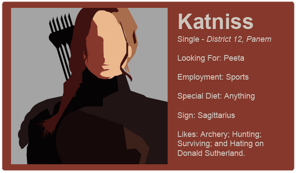Dating Fictions - Katniss