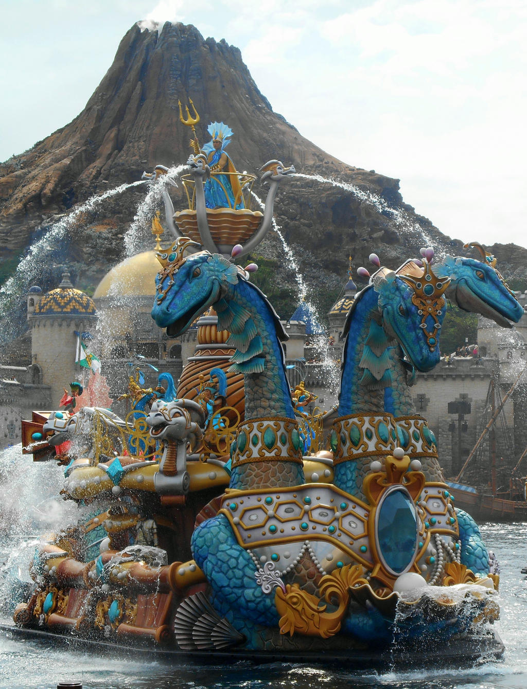 Hydra Float at Tokyo Disney Sea by RubyReminiscence