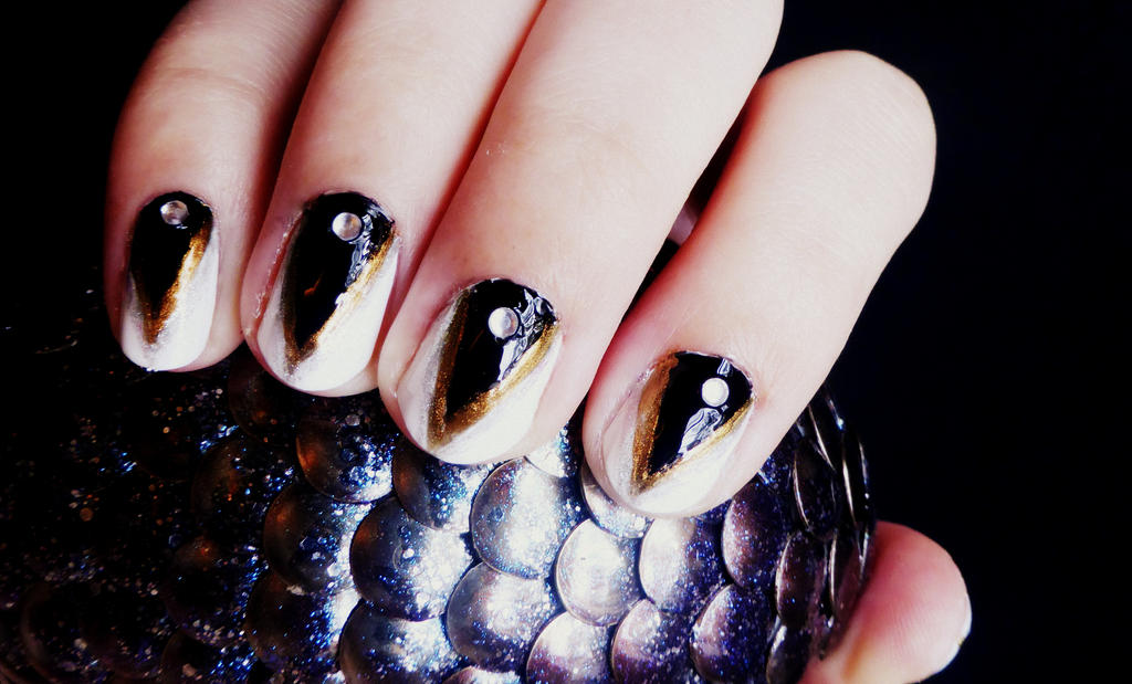 Glamour Claws Nail Art Tutorial By Rubyreminiscence On Deviantart