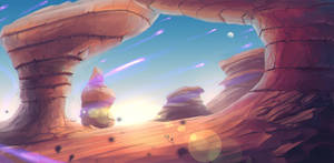 Concept Art: Desert Land