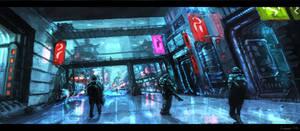 Concept Art: Neo Seoul by ESPj-o