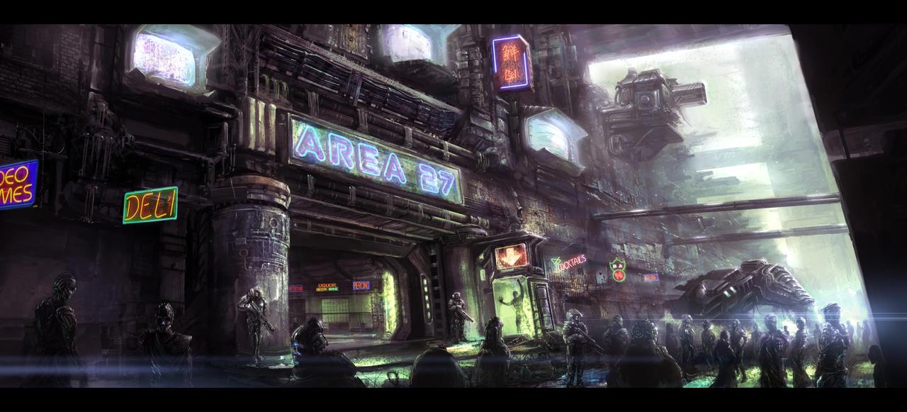 Concept Art: Area 27 by ESPj-o