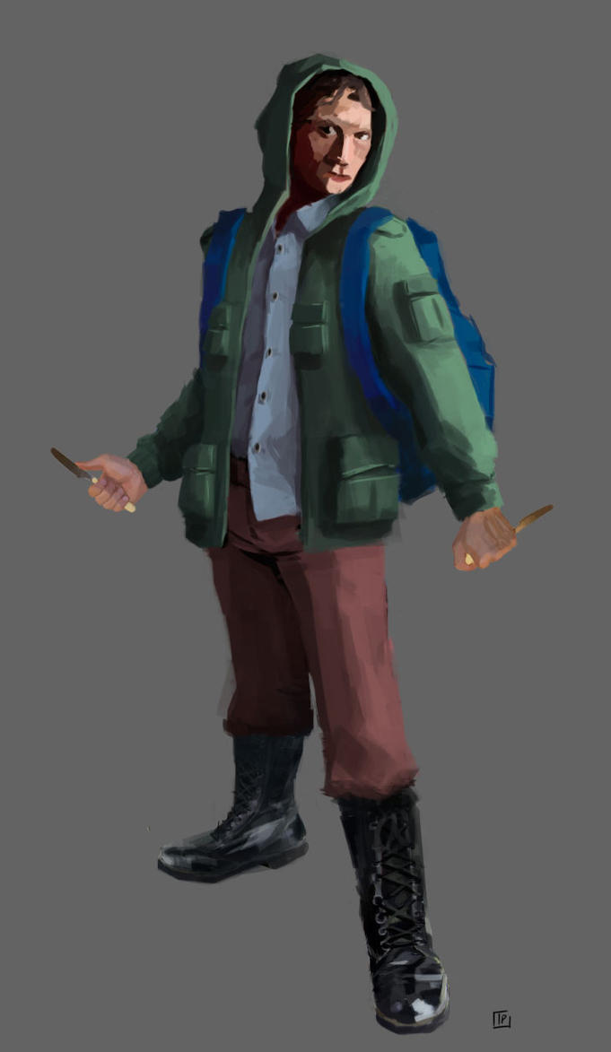 Concept guy by xiw