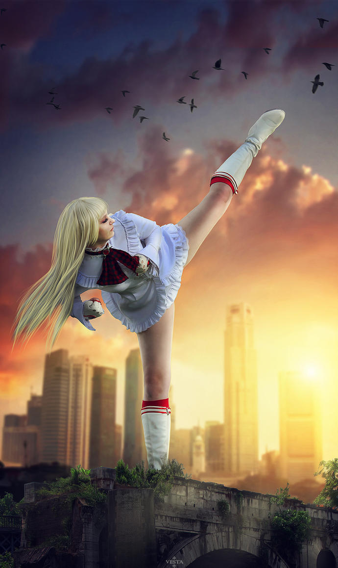 Lili fighter by Moonychka