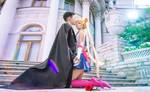 Pretty love Tuxedo Mask and Sailor Moon