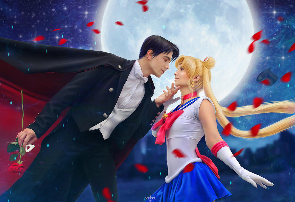 Do u want to kiss me? Moon romantic by Moonychka