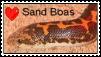 Sand Boa Stamp by CrimsonArk
