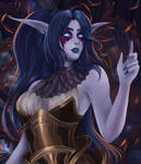 Thyra - Night Elf Commission