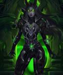 Demon Hunter - Commission for ely