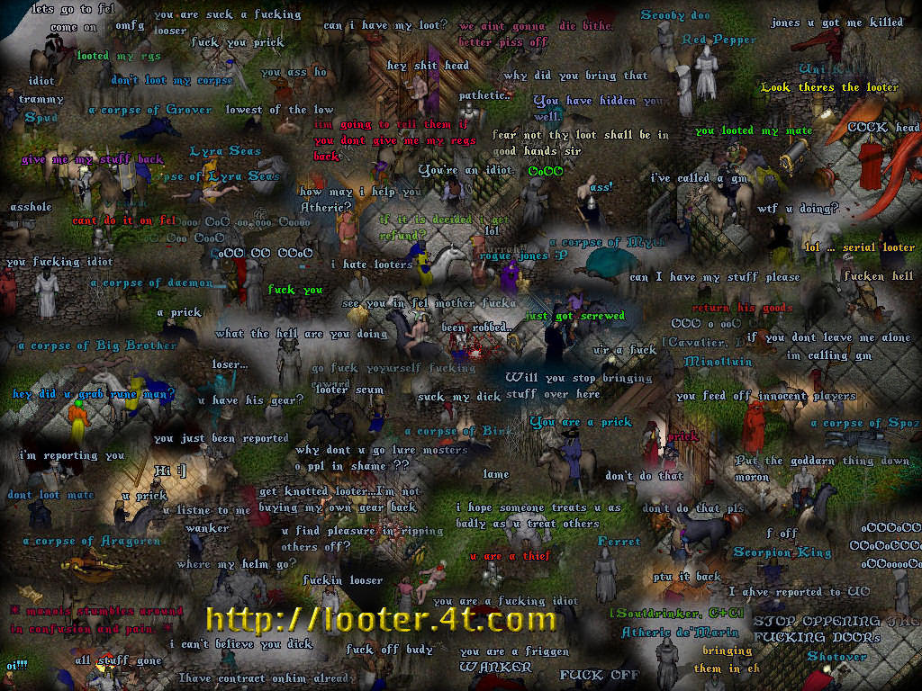 The Looter Wallpaper by RogueJones
