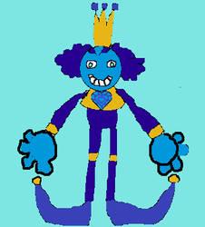 Steven Universe OC: Royal Blue Spinel