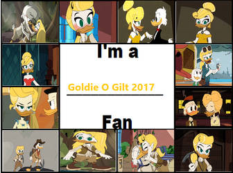 I'm a Goldie O Gilt 2017 Fan