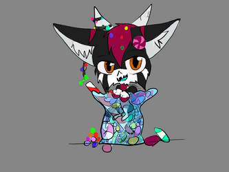 Who stole th candy from th candy jar? by lunawolf567