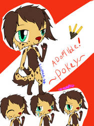 Furry adoptable pocky by lunawolf567