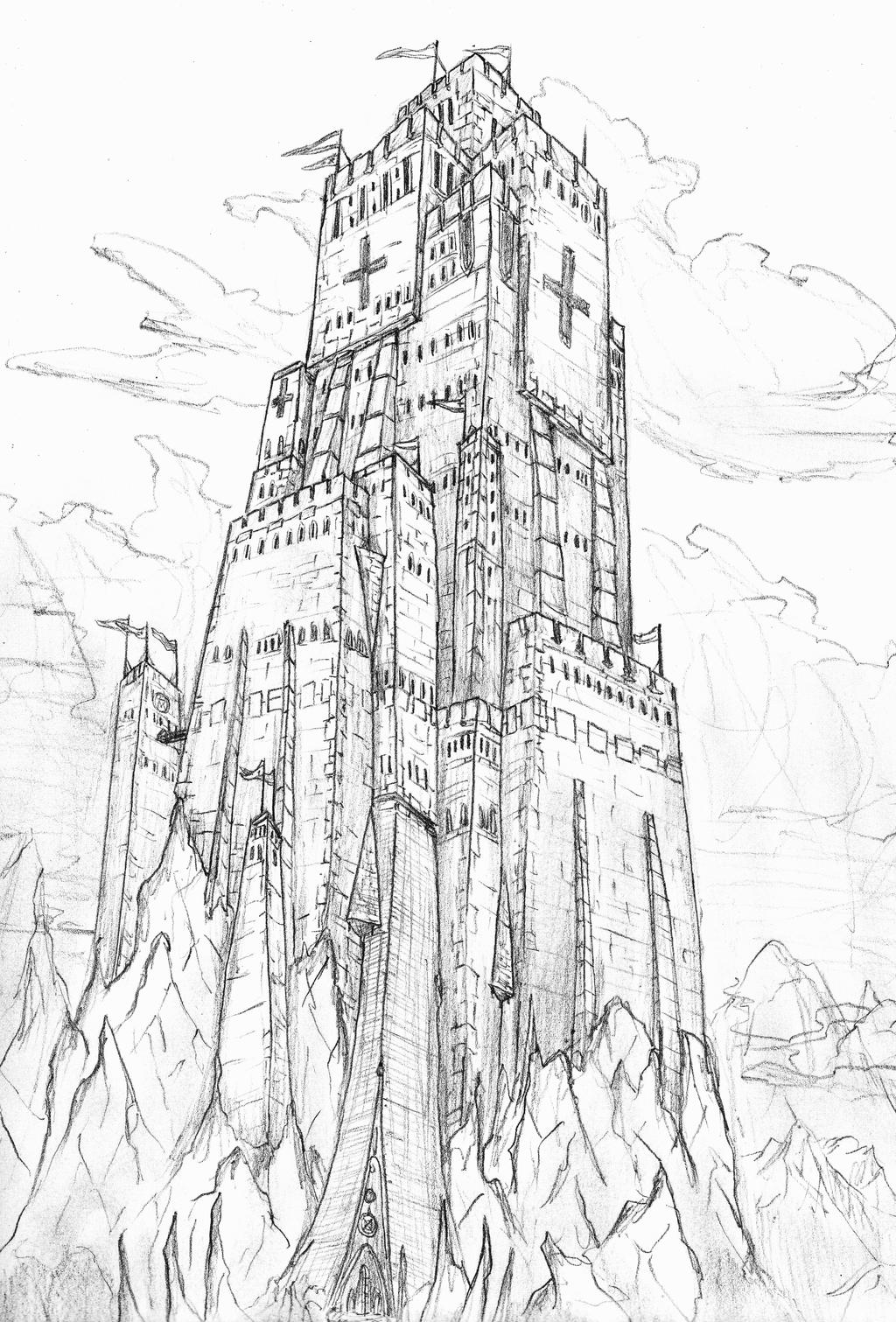stone tower by terremorte stone tower by terremorte