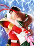 Request:Red Ranger and Jupiter by starca