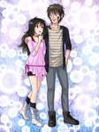 Commission: Kiba and Kuriko by starca