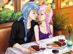 Commission: Furikeimaru and Chisei by starca