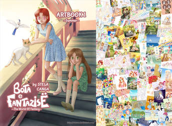 My first original manga artbook cover + VIDEO by starca