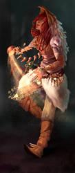 shaman by Emilyena